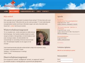Binnenste-buitenverhalen.nl pagina